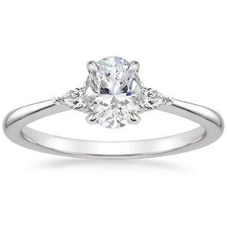 Three Stone Engagement Rings Brilliant Earth