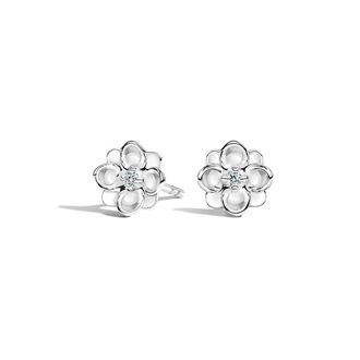 Magnolia Diamond Earrings Image