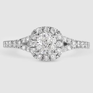 Platinum Joy Diamond Ring