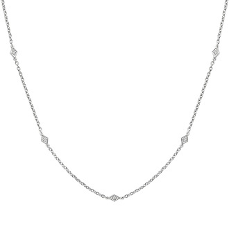 Marquesa Strand Diamond Necklace Image