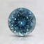 6.5mm Montana Teal Round Sapphire