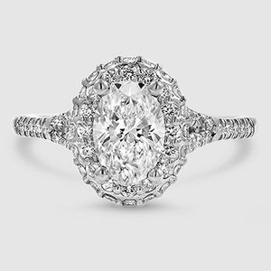 Platinum Circa Diamond Ring (1/2 ct. tw.)