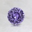 5.5mm Purple Round Sapphire, smalltop view