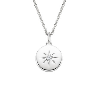 North Star Diamond Pendant Image