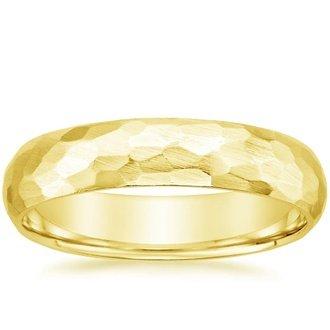 Mens Yellow Gold Wedding Bands Brilliant Earth