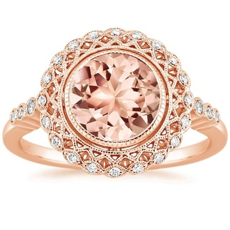 Morganite Engagement Rings Brilliant Earth