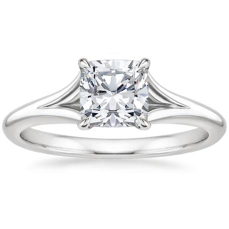 Split Shank Surprise Sapphire Engagement Ring Reverie Brilliant Earth