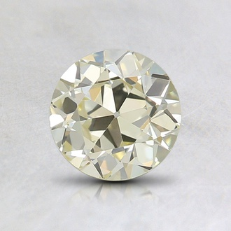 0.95 Ct. Fancy Light Yellow Round Diamond