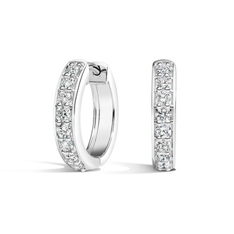 Luxe Diamond Huggie Earrings (1/2 ct. tw.) Image