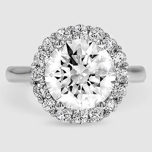 Flower Engagement Ring Lotus Brilliant Earth