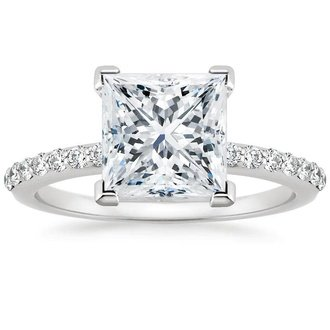 image cut platinum diamond square engagement ring lance rings james
