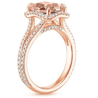 14k rose gold - Non Traditional Wedding Rings