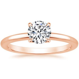 14K Rose Gold Elodie Ring