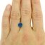 7.1mm Unheated Blue Round Sapphire, smalladditional view 1