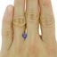 6.1mm Purple Round Sapphire, smalladditional view 1