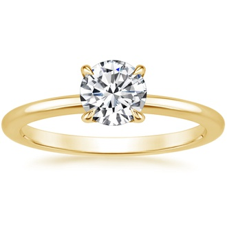 18K Yellow Gold Petite Elodie Ring