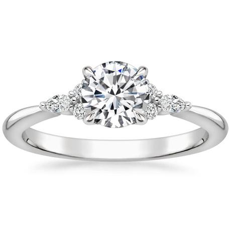 Cluster Accent Diamond Ring Nadia Brilliant Earth