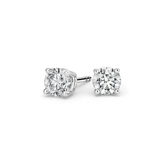 Round Diamond Stud Earrings (1 ct. tw.) Image