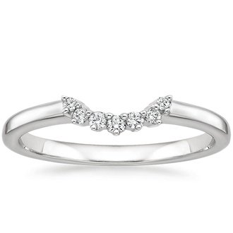 curved wedding bands brilliant earth