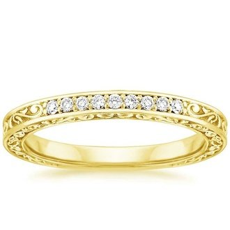 18k yellow gold - Wedding Rings Yellow Gold
