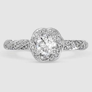 849d6f958aa3 18K White Gold Cordoba Diamond Ring (1 2 ct. tw.)