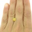 1.33 Ct. Fancy Vivid Orangy Yellow Princess Lab Created Diamond, smalladditional view 1