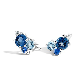 Hydrangea Earrings Image