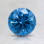 1.07 Ct. Fancy Deep Greenish Blue Round Lab Created Diamond