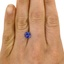 6.7mm Unheated Purple Cushion Sapphire, smalladditional view 1