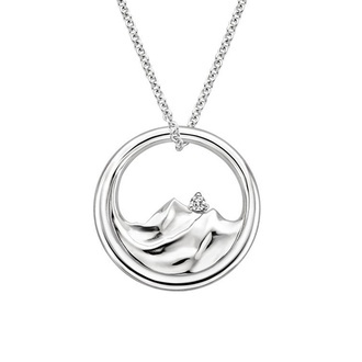 Mountain Range Diamond Pendant Image