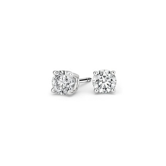 Round Diamond Stud Earrings (3/4 ct. tw.) Image