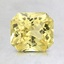 6.8x6.1mm Unheated Yellow Radiant Sapphire