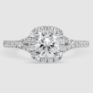 18K White Gold Joy Diamond Ring