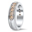 Champagne Diamond Wedding Ring, smallview