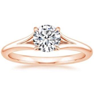 14k rose gold reverie ring - Rose Wedding Ring