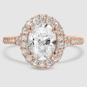 14K Rose Gold Circa Diamond Ring (1/2 ct. tw.)