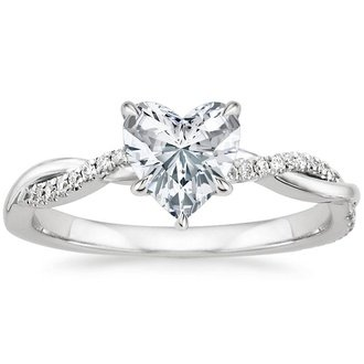 Heart Engagement Rings   Brilliant Earth
