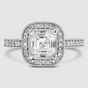 Platinum Felicity Diamond Ring (1/4 ct. tw.)
