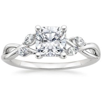 18K White Gold. Willow Diamond Ring ...