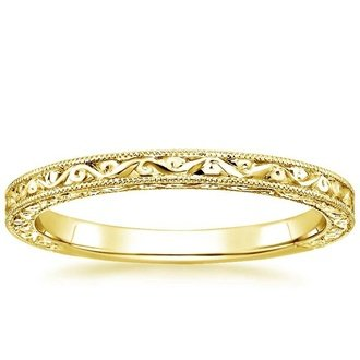 18k yellow gold hudson ring - Wedding Rings Yellow Gold