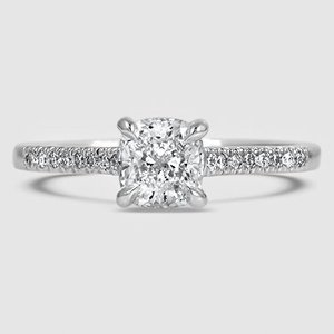 Platinum Lissome Diamond Ring