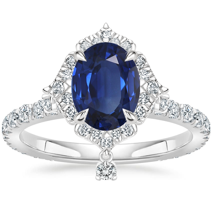 Sapphire Summer Rain Diamond Ring (3/4 ct. tw.) in Platinum