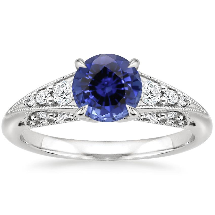 Sapphire Serafina Diamond Ring (1/4 ct. tw.) in 18K White Gold
