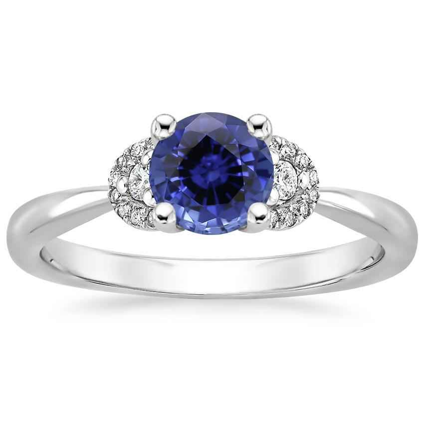 Sapphire Lorelai Diamond Ring in Platinum