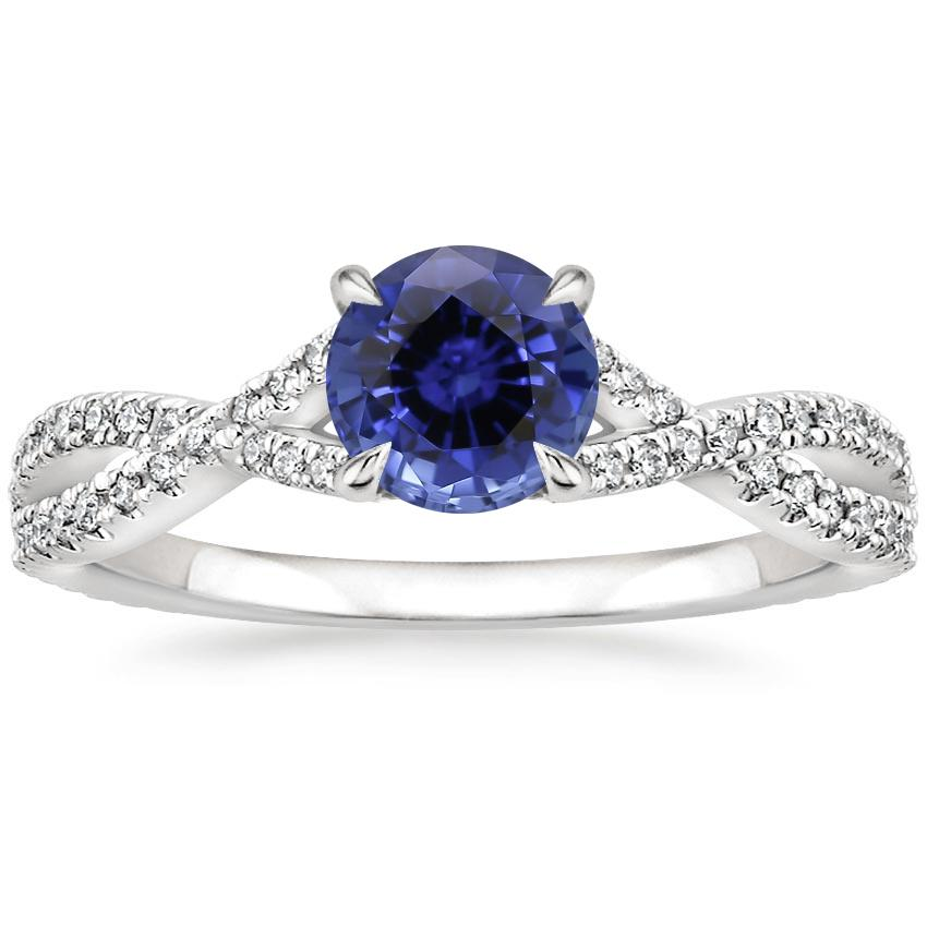 Sapphire Chloe Diamond Ring (1/4 ct. tw.) in Platinum