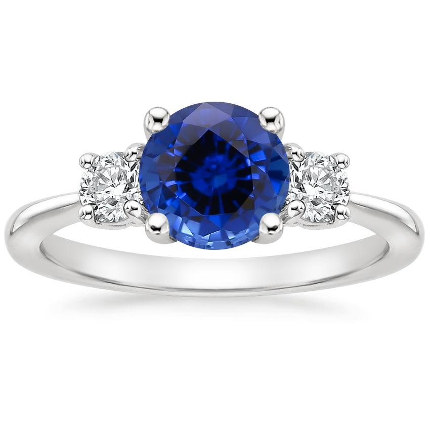 Sapphire Serena Diamond Ring (1/3 ct. tw.) in 18K White Gold