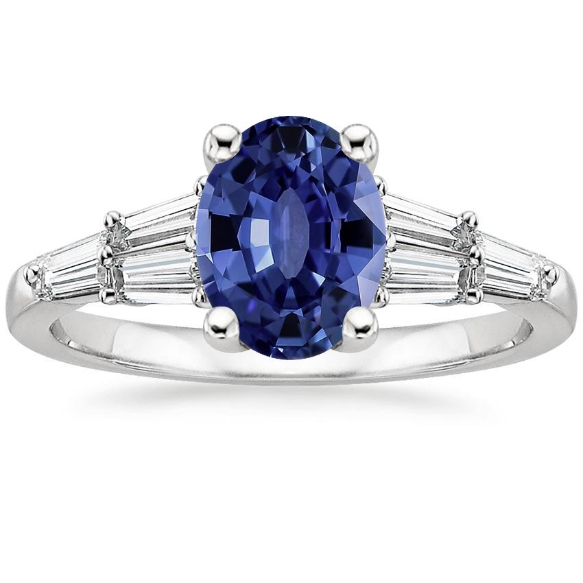 Sapphire Harlow Diamond Ring (1/2 ct. tw.) in 18K White Gold