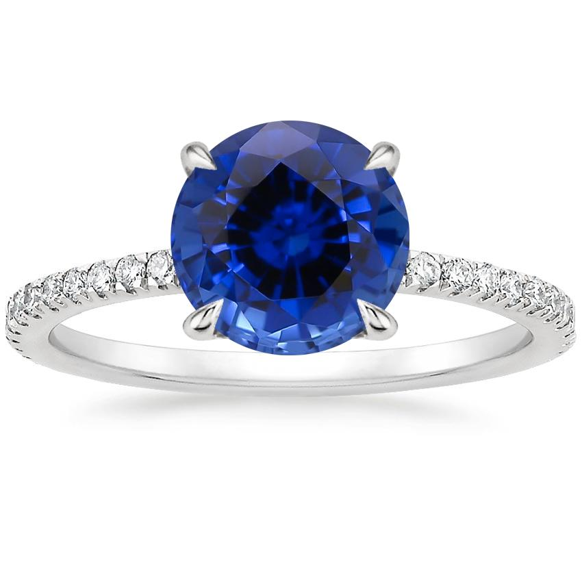 Sapphire Luxe Viviana Diamond Ring (1/3 ct. tw.) in 18K White Gold