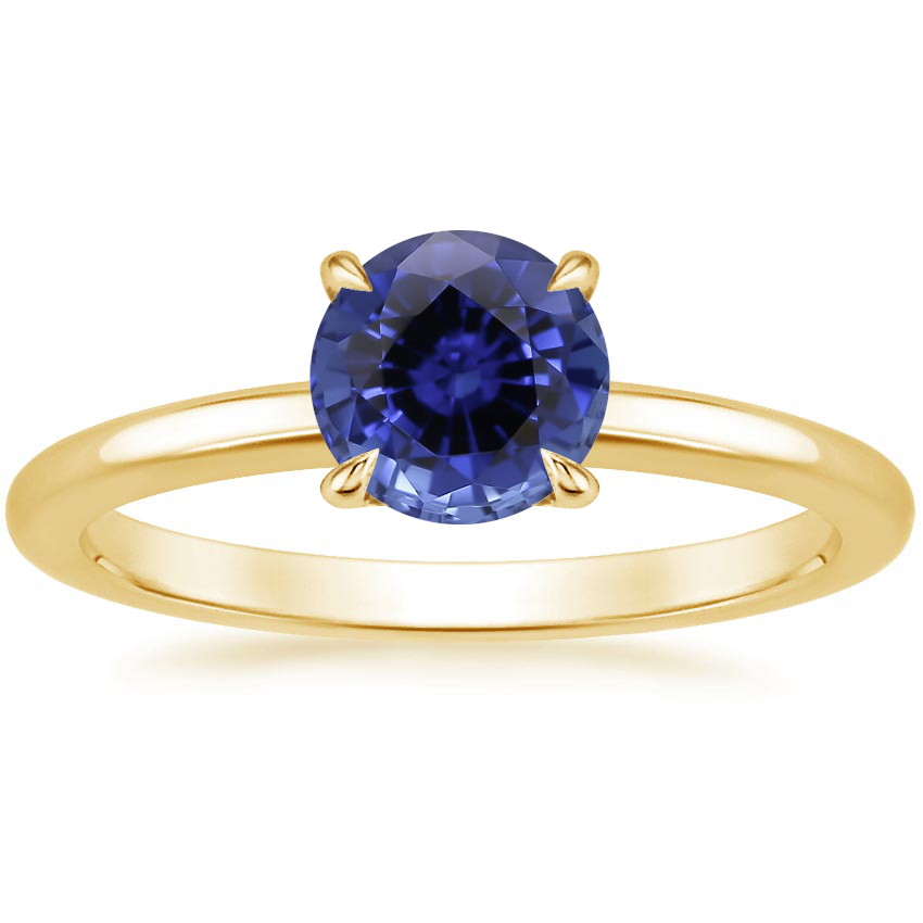 Yellow Gold Sapphire Elodie Ring