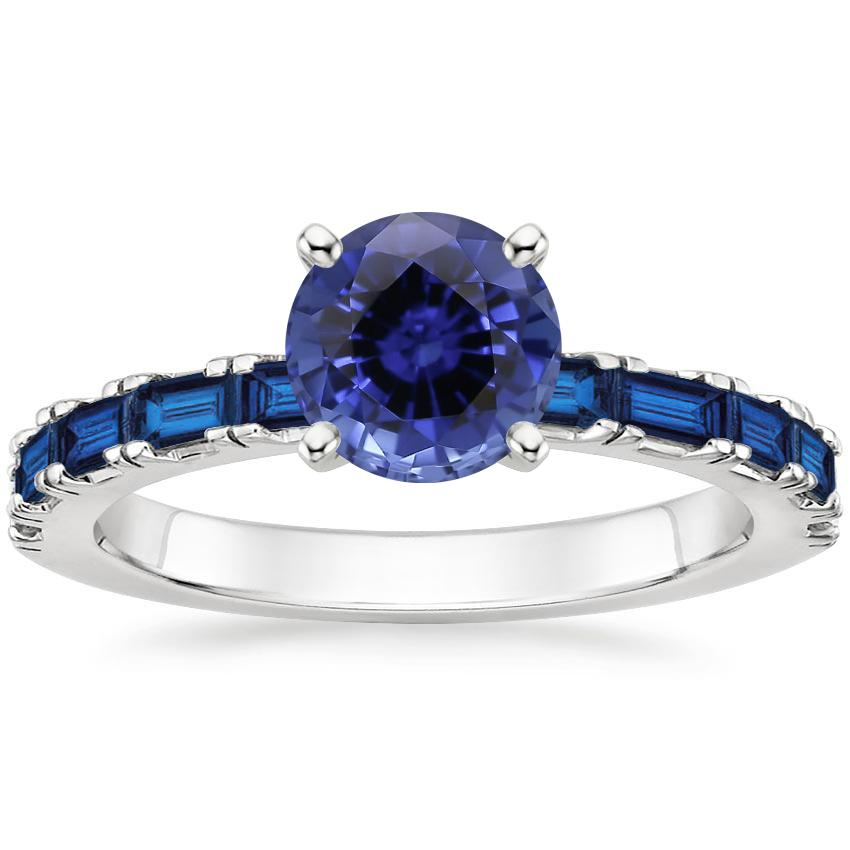 Image result for teal Sapphire Gemma Ring with Sapphire Accents